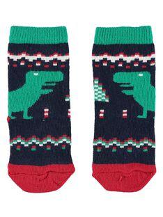 Navy Socks GYUNOCHO / 19WI10V1SOQ705