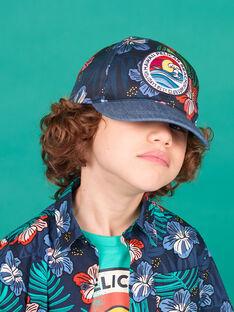 Baby boy's night blue cap LYOBONCAP / 21SI02W1CHA705