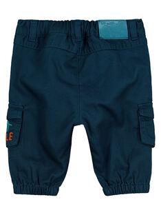 Navy pants FUTUPAN / 19SG10F1PAN714