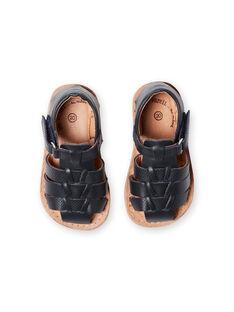 Baby Boy Navy Sandals LBGSANDENZO / 21KK3859D0E070
