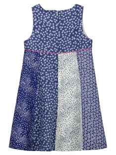 Girls' fancy sleeveless dress FANEROB3 / 19S901B4ROB099