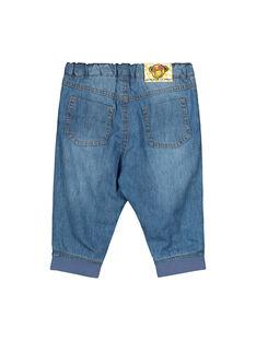 Baby boys' jeans FUBAJEAN / 19SG1061JEA704
