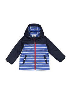 Boys' striped raincoat FOGROIMP1 / 19S902X1IMP705