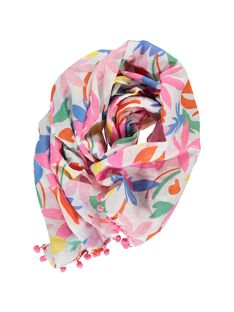 Girls' fancy scarf CYAMAFOUL / 18SI01U1FOU099
