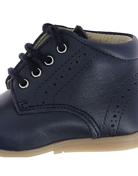 Baby boys' leather boots CBGBOTSOLU1 / 18SK38W1D0F070