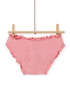 Set of 3 assorted panties child girl MEFALOTFLE / 21WH11B5D5L001