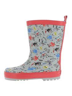 Grey Rain boots DGBPAOP / 18WK36V3D0C940