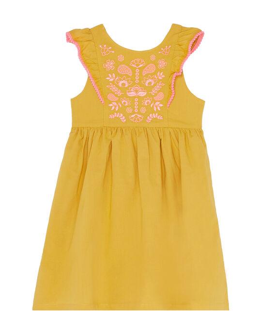 Yellow Dress JADUROB1 / 20S901O3ROBB107