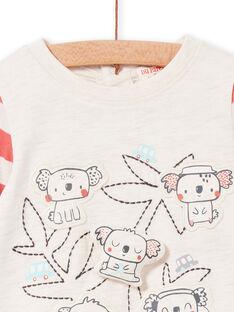 Baby boy striped long sleeve t-shirt LUPOETEE2 / 21SG10Y2TMLA011