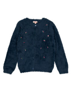 Navy Cardigan GATUCAR / 19W901Q1CAR714