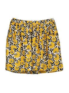 Girls' flowery skirt FALIJUPE / 19S90121JUP099