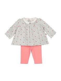 Unisex babies' cotton set FOU1ENS5 / 19SF0515ENS099