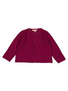 Purple Cardigan GIJOCAR5 / 19WG09L1CAR718