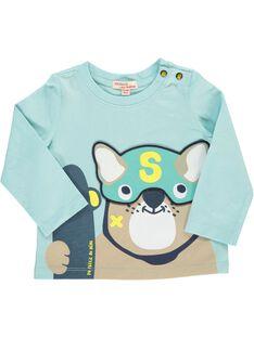 Baby boys' long-sleeved T-shirt CUHOTEE1 / 18SG10E1TML203