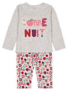 Heather grey Pajamas GEFAPYJFRU / 19WH11D1PYJ943