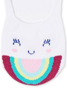 Invisible socks child girl LYAJOSCHO3B / 21SI014ASOQ000