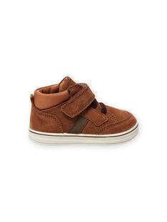 Baby boy camel suede sneakers MUBASIMA / 21XK3871D3F804