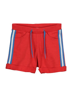 Baby boys' fleece shorts FUJOBER8 / 19SG10G6BERF517