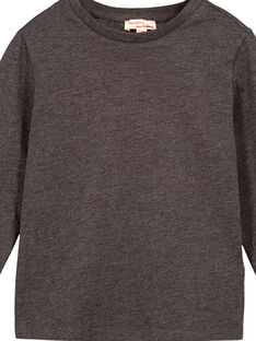 Dark grey Longsleeve T-SHIRT GOESTEE4 / 19W902U4D32944