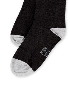Dark grey SOCKS KYOESCHO4 / 20WI0289SOQ944