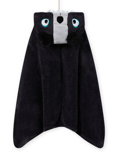 Child boy koala nightgown in soft boa MEGOCAPKOA / 21WH1291CPEJ903