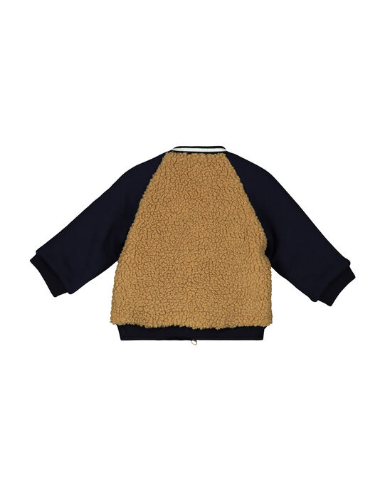 Boys' warm jacket FUGROTED / 19SG10X3VES705