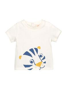Baby boys' short-sleeved T-shirt FUJOTI2 / 19SG1032TMC001