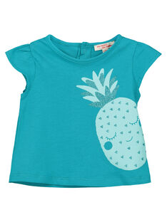 Baby girls' fancy T-shirt FIJOTI7 / 19SG09G2TMC202