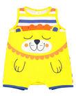 Baby boys' short sleepsuit FEGAGRERAY / 19SH14H6GRE099