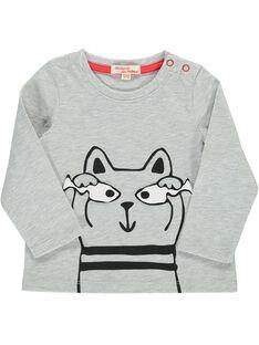 Baby boys' fancy long-sleeved T-shirt DUJOTEE6 / 18WG103ATMLJ908