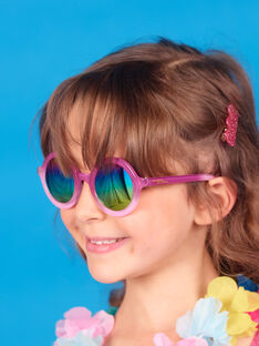 Pink sunglasses child girl LYAMERLUN2 / 21SI01D2LUN304