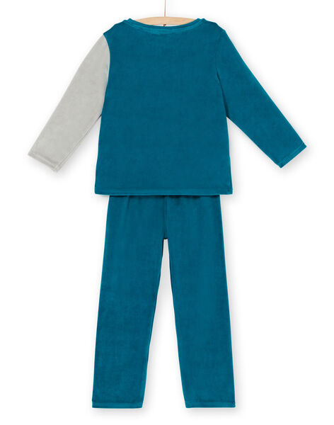 Velvet children's pyjama boy wolf animation LEGOPYJLOU / 21SH1214PYJ209
