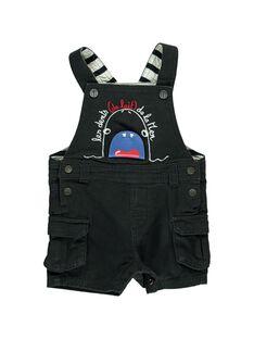 Baby boys' short dungarees CUBENSAC1 / 18SG10G1SAC090