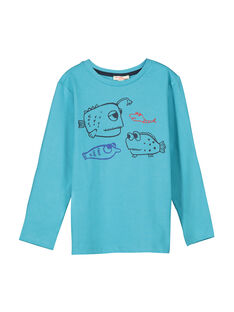 Boys' long-sleeved T-shirt FOJOTEE3 / 19S90233D32202