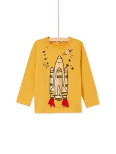 Yellow T-SHIRT KOGOTEE2 / 20W902L4TMLB105