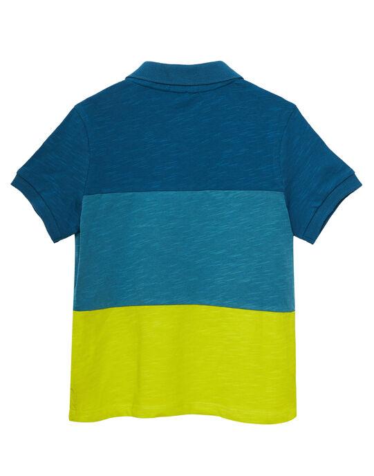 Blue Polo shirt JOBOPOL / 20S902H1POLC219