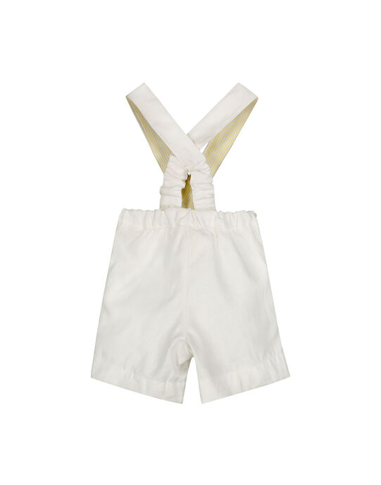 Baby boys' shorts with braces FUPOBER / 19SG10C1BER000