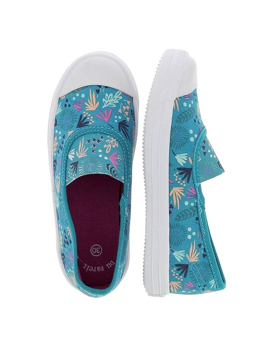 Turquoise Sneakers CFRYTFEUIL / 18SK35O4D16202