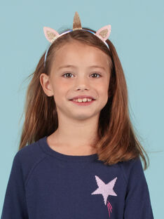 Unicorn headband with glitter child girl MYAJOSERR3 / 21WI01S3TETP275
