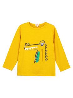 Light yellow T-shirt GOMUTEE3 / 19W902F2TMLB116