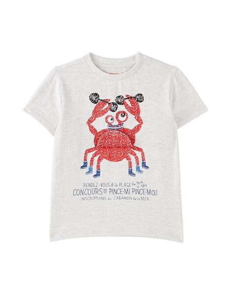 Grey T-shirt JOCEATI2 / 20S902N2TMCJ920