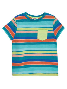 Blue T-shirt JOMARTI4 / 20S902P4TMCC242
