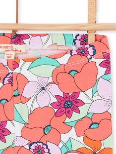 Multicolored leggings child girl LYAVILEG / 21SI01U1CAL000