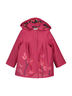 Girls' waterproof coat FAROIMPER / 19S901X3IMP304