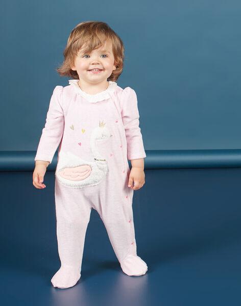 Heather pink ROMPER MEFIGRESWA / 21WH1385GRED314