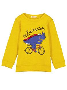 Orange T-shirt GOJAUTEE2 / 19W902H1TML109