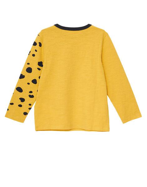 Light yellow T-shirt JOTROTEE2 / 20S902F2TMLB116