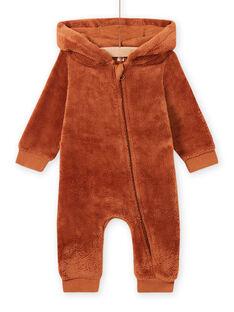 Baby boy fox hooded jumpsuit MUSAUCOM / 21WG10P1CBLI803