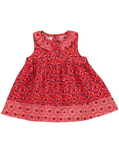 Baby girls' dress FITOROB1 / 19SG09L1ROB330