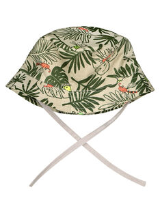 Baby boys' tropical hat FYUYECHA / 19SI10M1CHA099